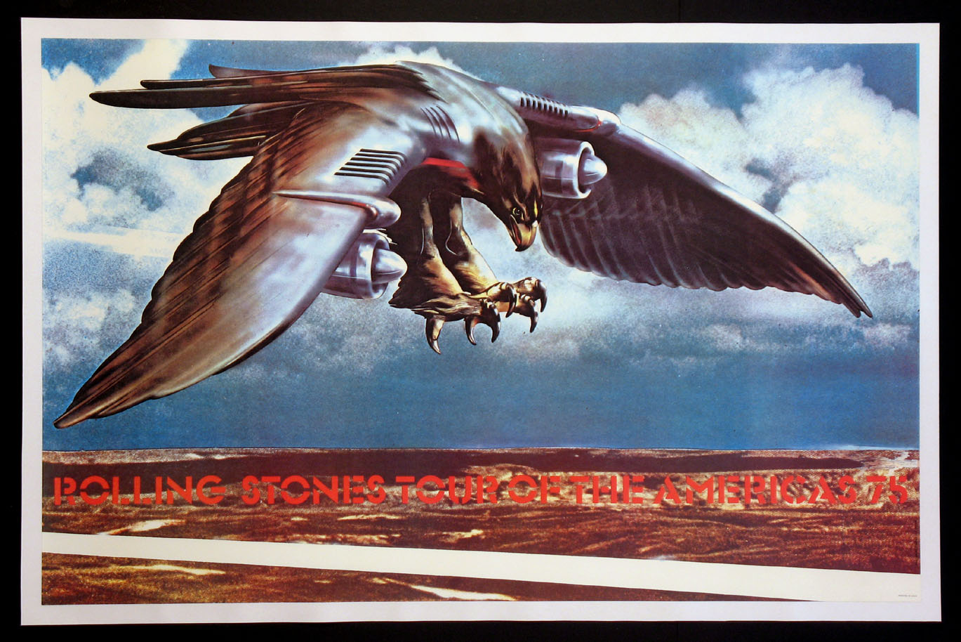 ROLLING STONES 1975 TOUR OF THE AMERICAS POSTER @ FilmPosters.com
