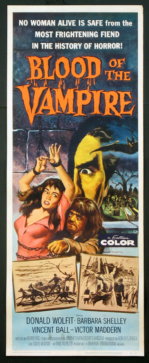 BLOOD OF THE VAMPIRE @ FilmPosters.com