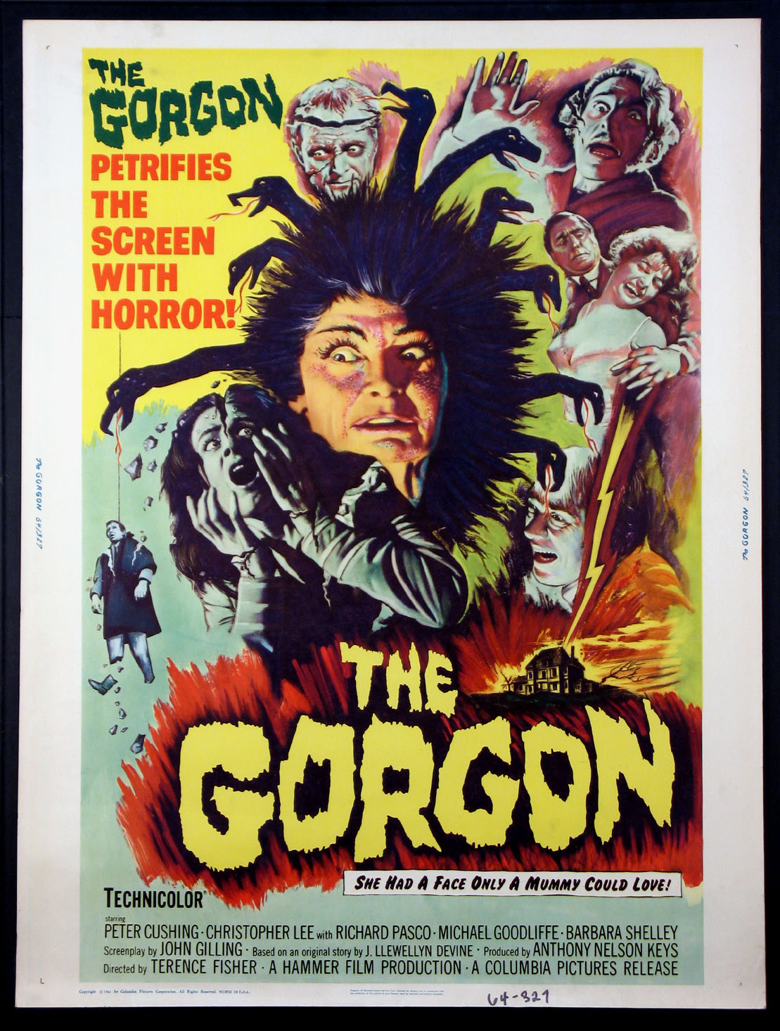 GORGON, THE @ FilmPosters.com