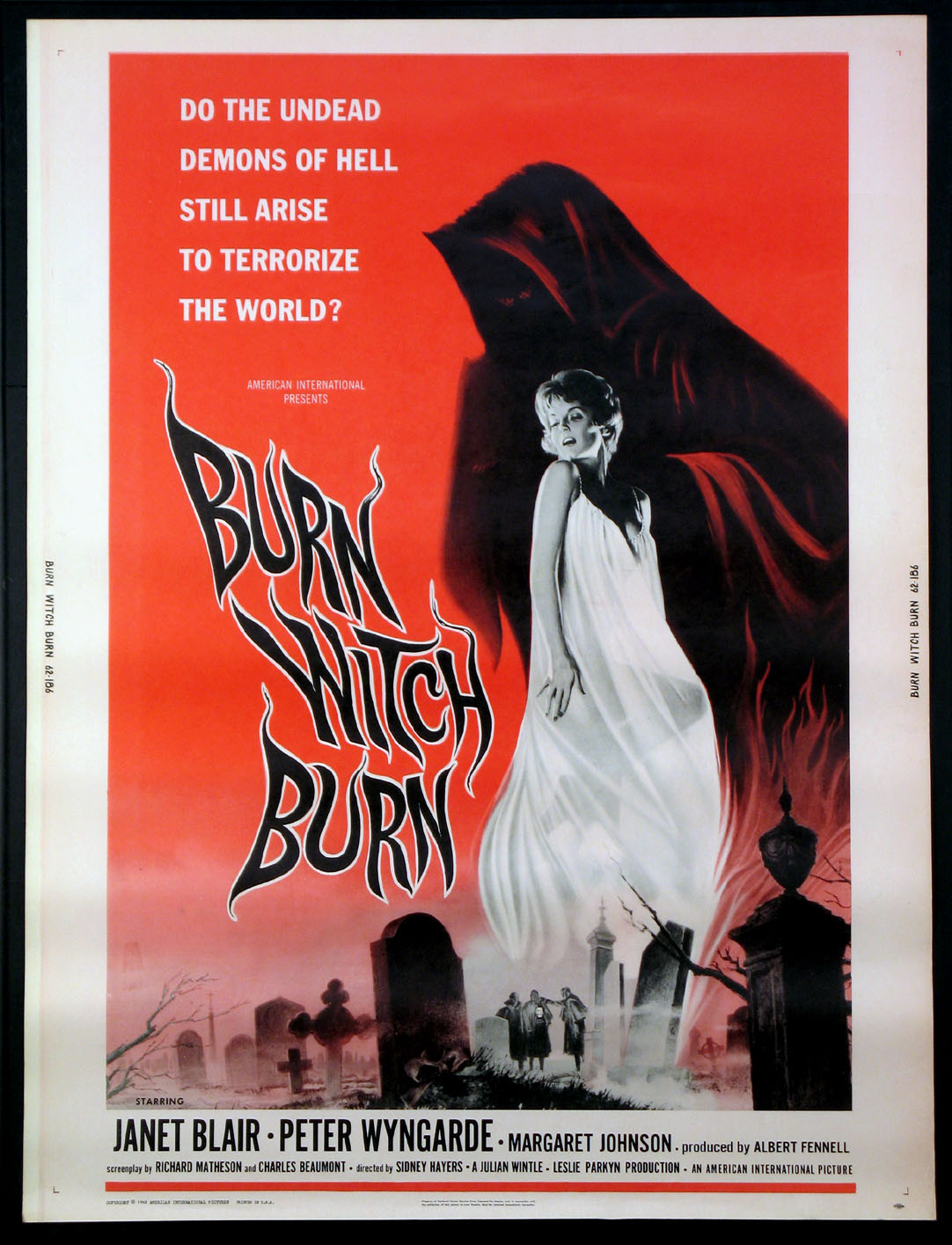 BURN, WITCH, BURN @ FilmPosters.com