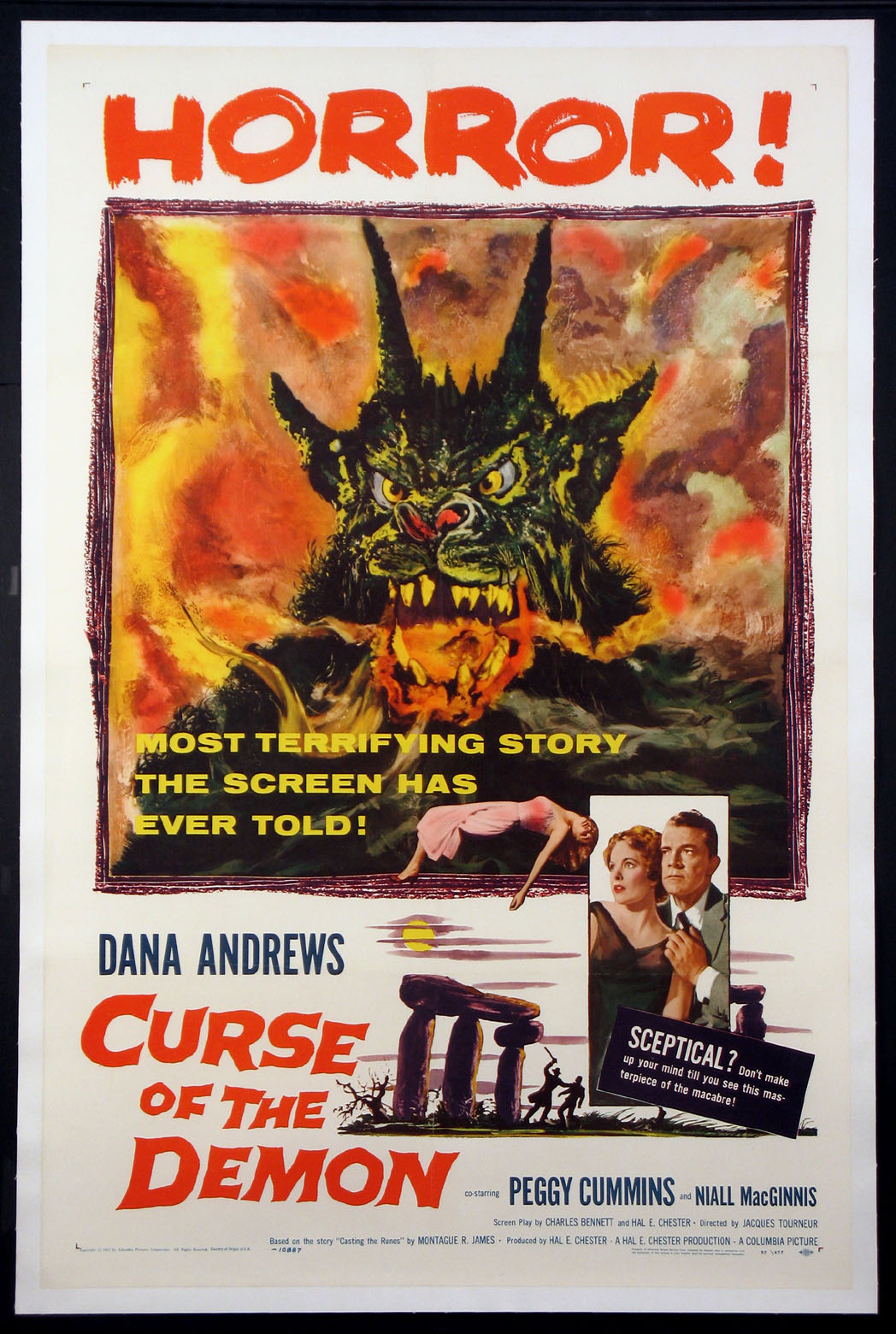 CURSE OF THE DEMON (Night of the Demon) @ FilmPosters.com