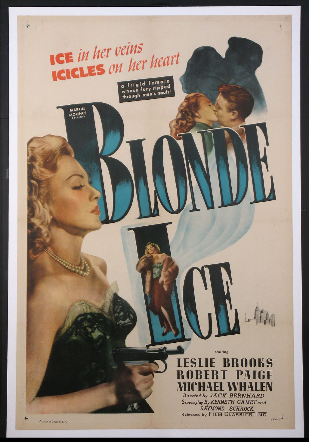 BLONDE ICE @ FilmPosters.com