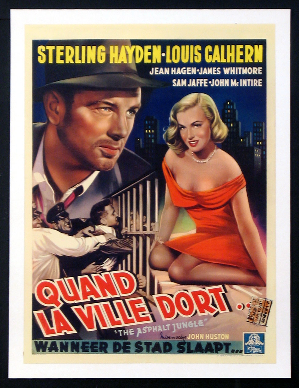ASPHALT JUNGLE, THE (The Asphalt Jungle) @ FilmPosters.com