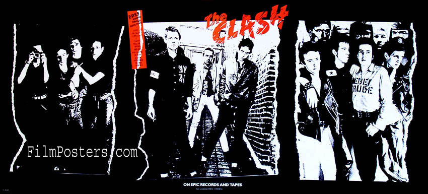 THE CLASH DEBUT ALBUM PROMOTIONAL POSTER @ FilmPosters.com