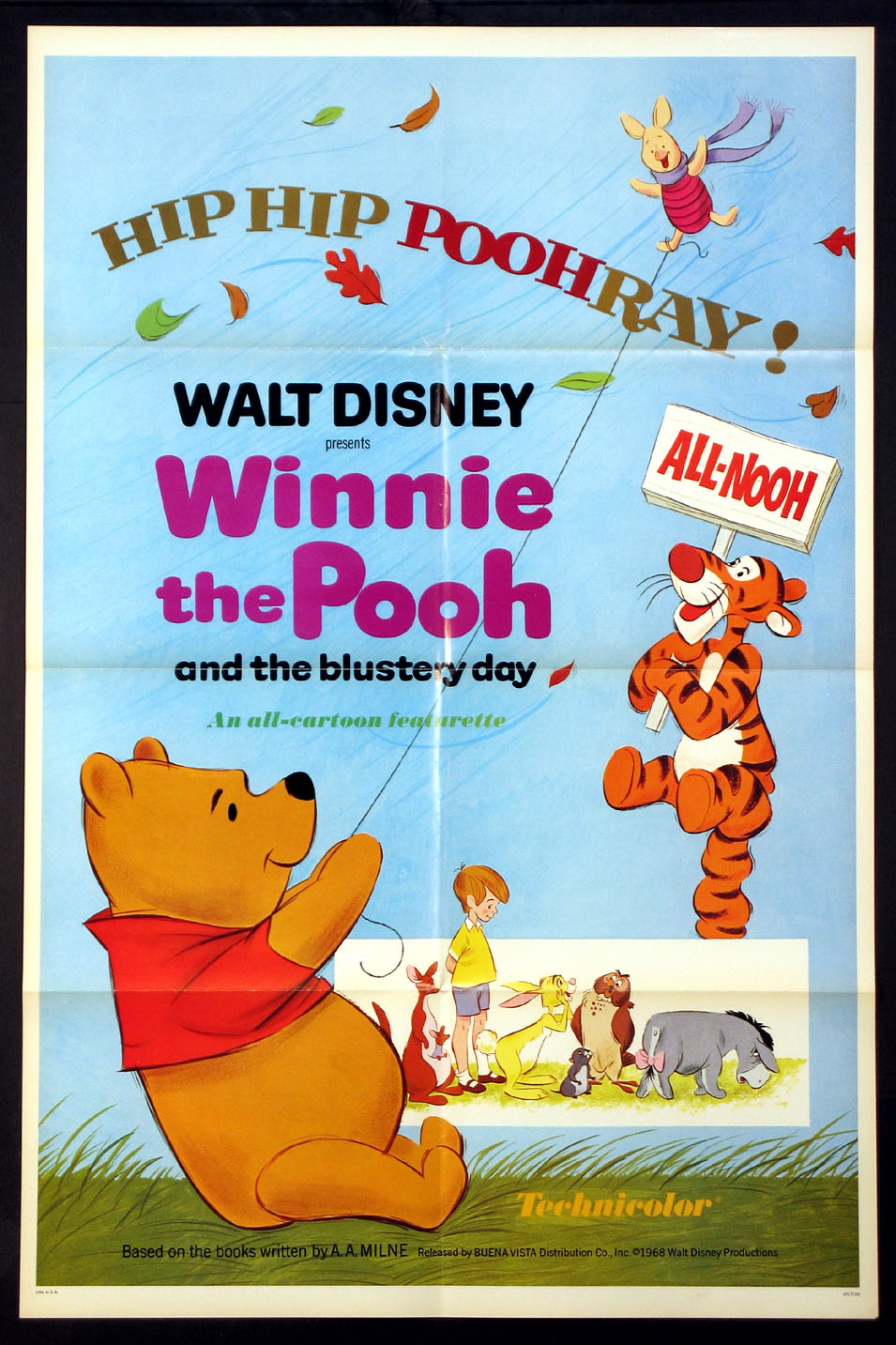 WINNIE THE POOH AND THE BLUSTERY DAY @ FilmPosters.com