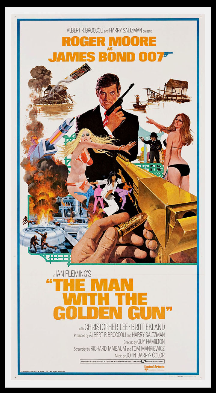MAN WITH THE GOLDEN GUN, THE @ FilmPosters.com