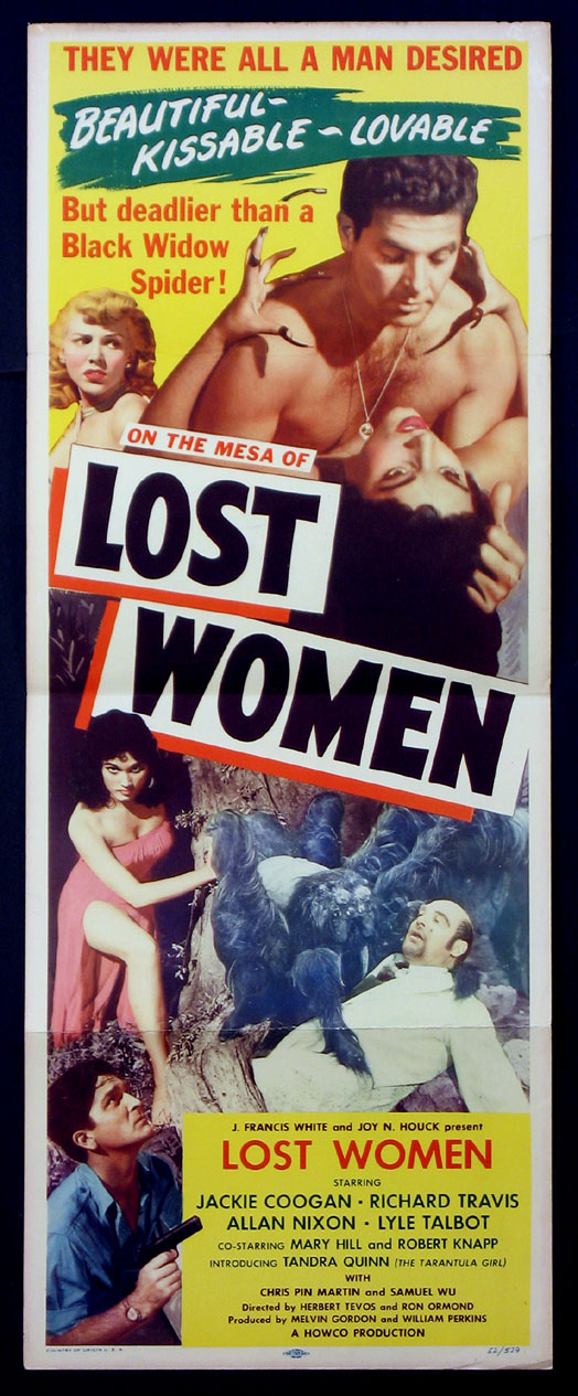 ON THE MESA OF LOST WOMEN @ FilmPosters.com