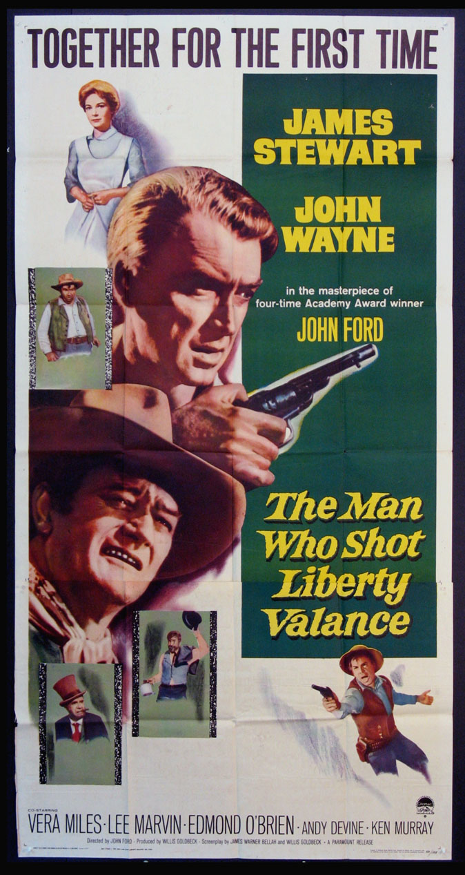 MAN WHO SHOT LIBERTY VALANCE, THE @ FilmPosters.com