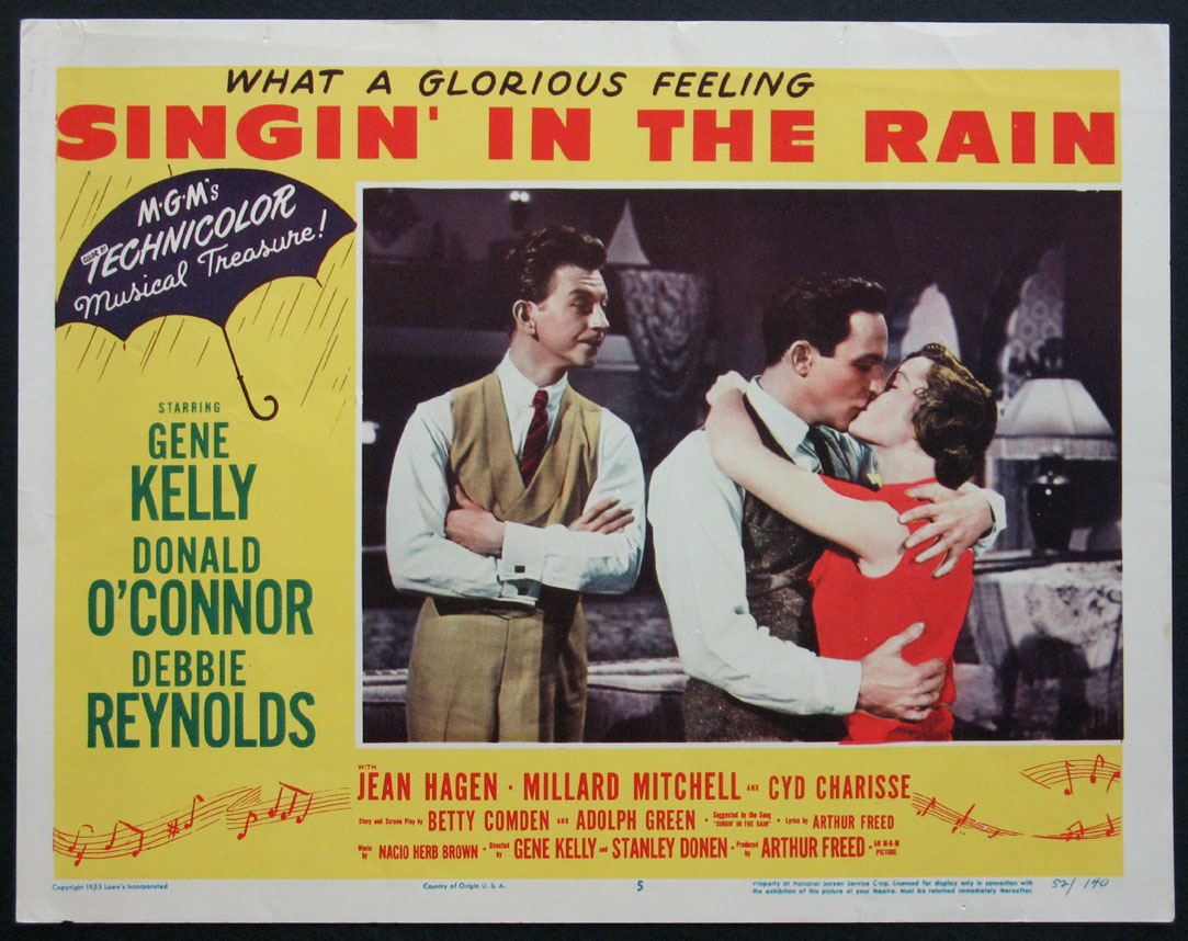 SINGIN' IN THE RAIN (Singing in the Rain) @ FilmPosters.com