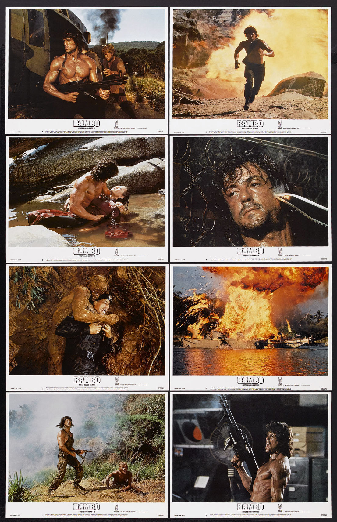 RAMBO: FIRST BLOOD PART II @ FilmPosters.com