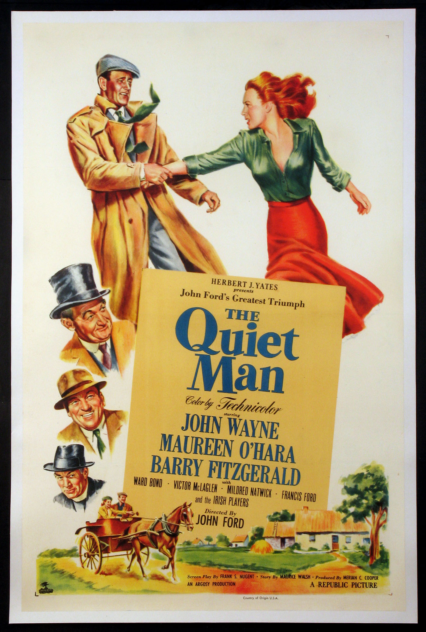 QUIET MAN, THE (The Quiet Man) @ FilmPosters.com