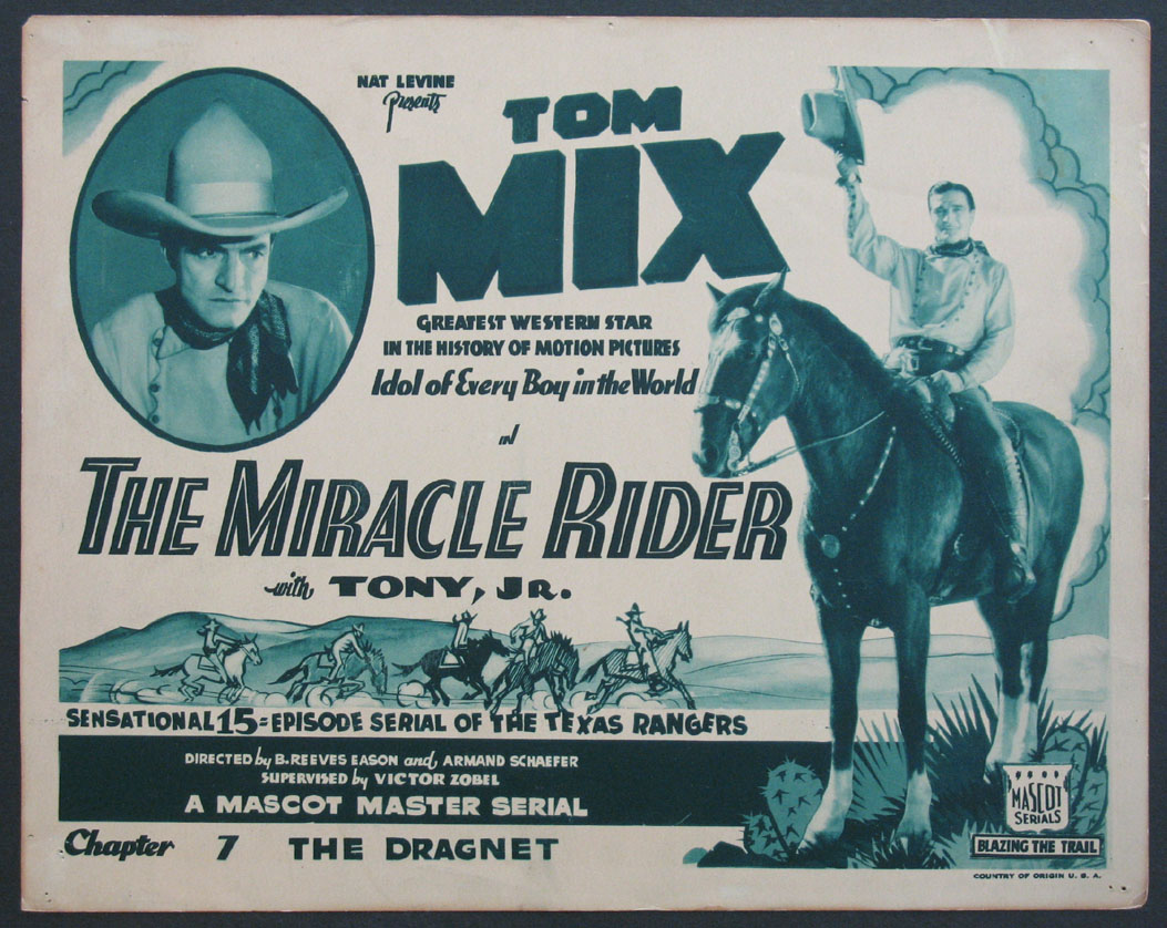 MIRACLE RIDER, THE @ FilmPosters.com