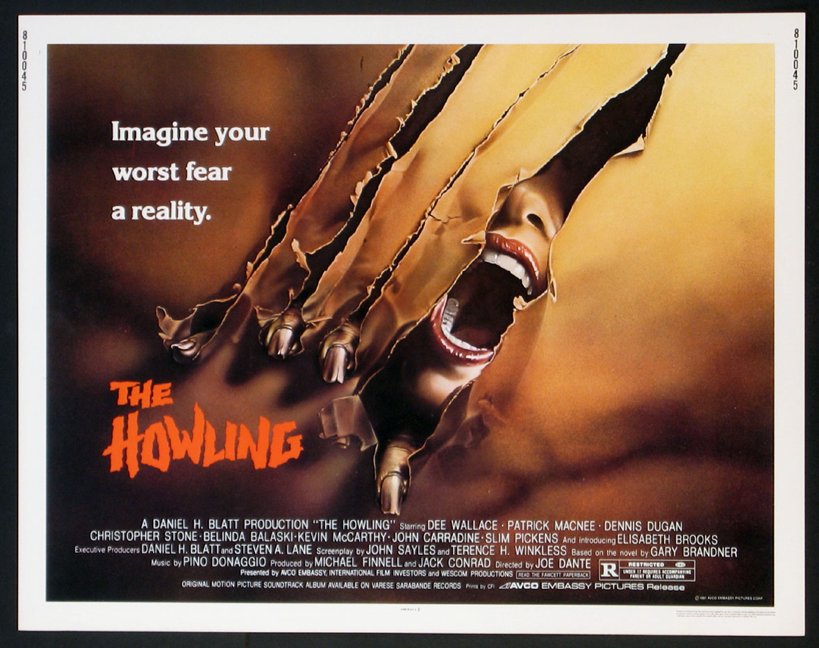 HOWLING, THE @ FilmPosters.com