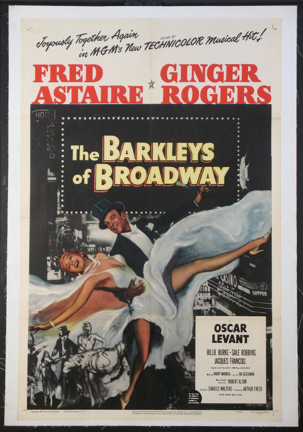 BARKLEYS OF BROADWAY, THE @ FilmPosters.com