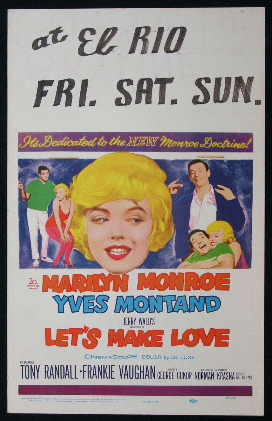 LET'S MAKE LOVE (Lets Make Love) @ FilmPosters.com