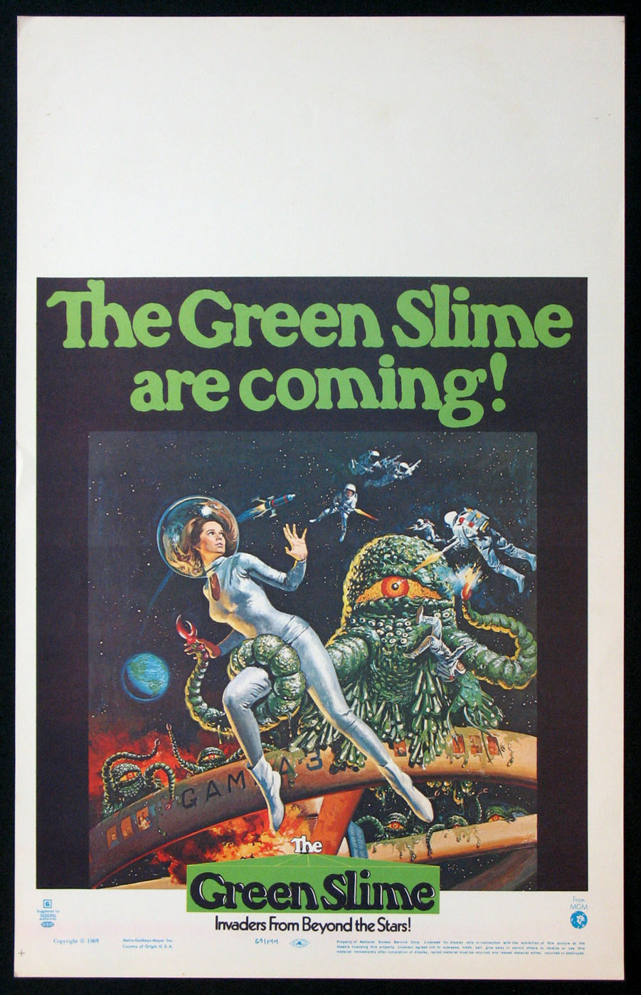 GREEN SLIME, THE @ FilmPosters.com