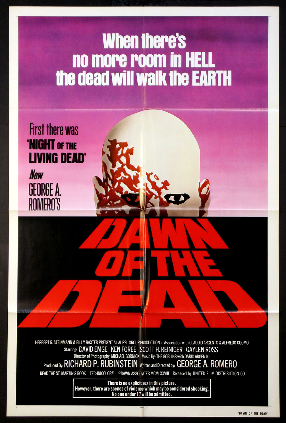 DAWN OF THE DEAD @ FilmPosters.com
