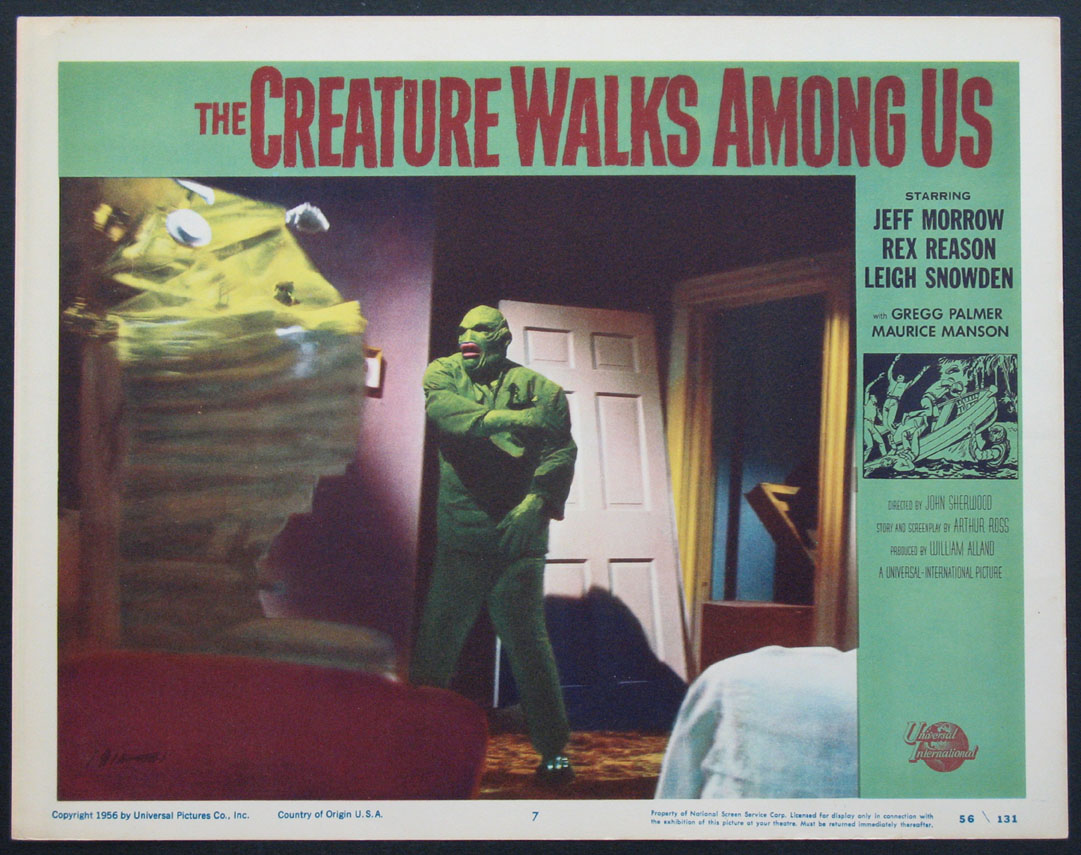CREATURE WALKS AMONG US, THE @ FilmPosters.com