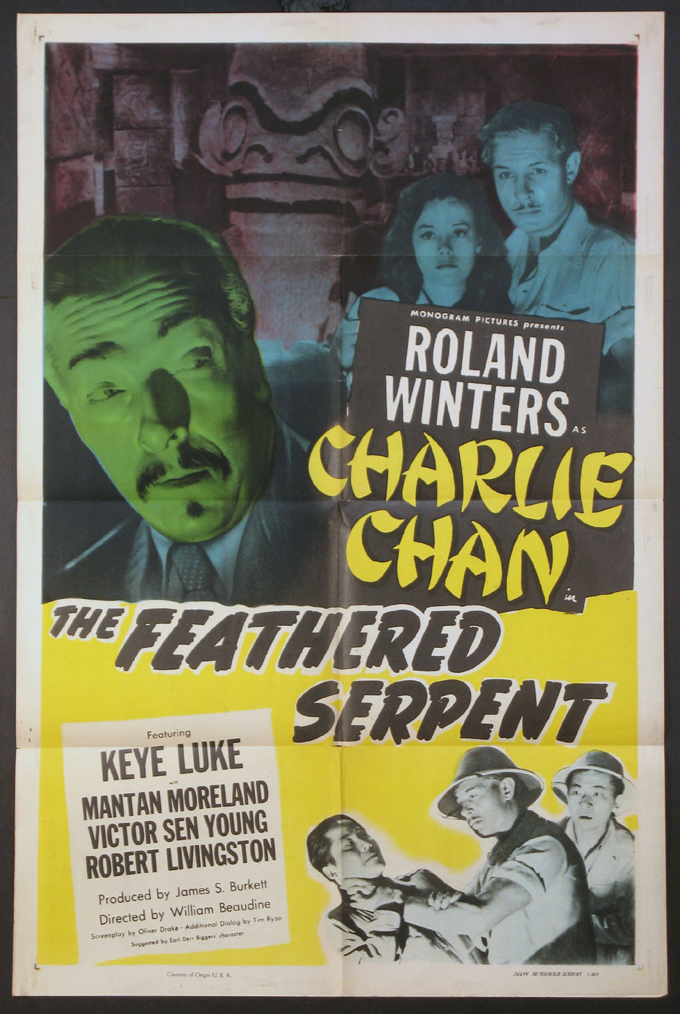 FEATHERED SERPENT, THE (Charlie Chan series) @ FilmPosters.com