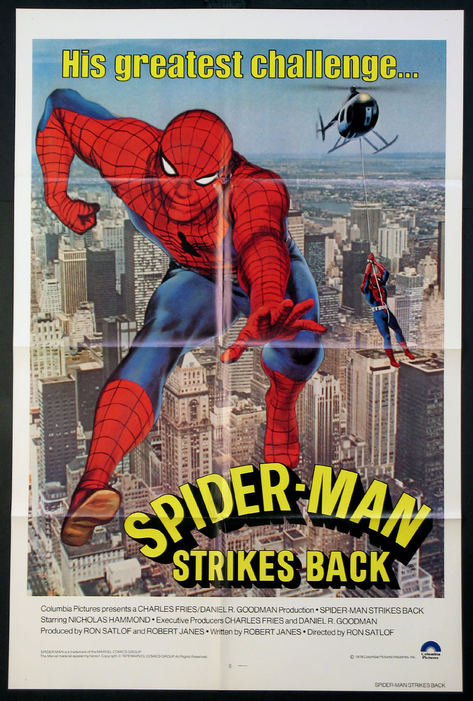 SPIDER-MAN STRIKES BACK (Spiderman) @ FilmPosters.com