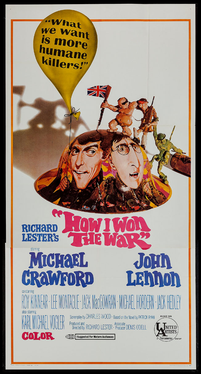 HOW I WON THE WAR @ FilmPosters.com