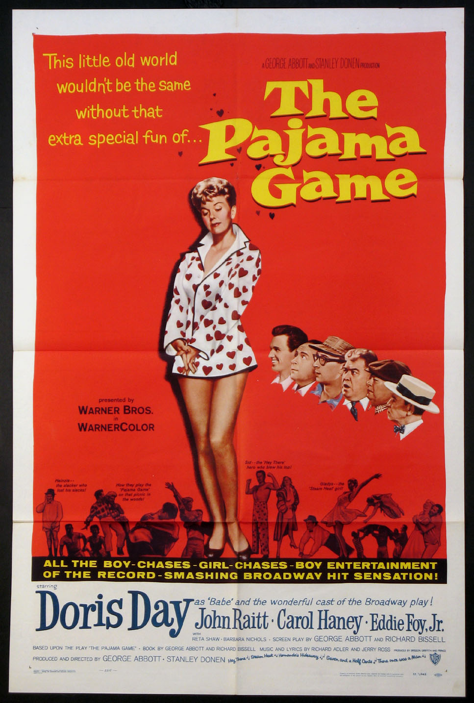PAJAMA GAME, THE @ FilmPosters.com
