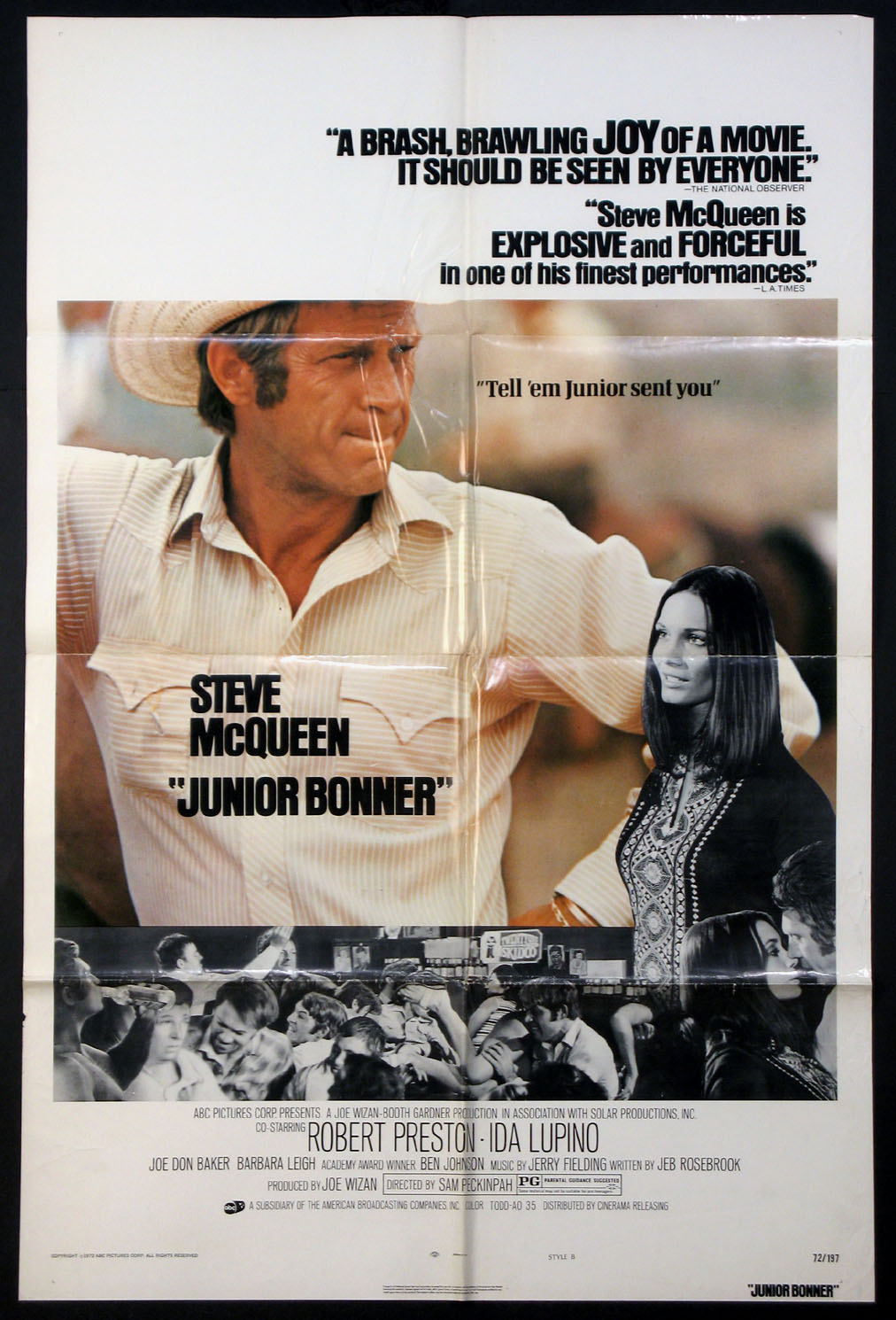 JUNIOR BONNER @ FilmPosters.com