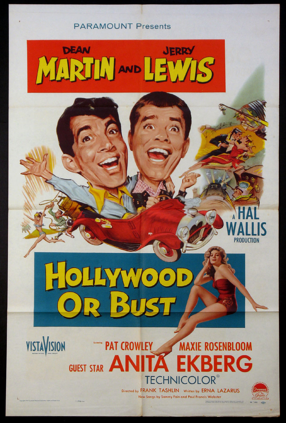 HOLLYWOOD OR BUST @ FilmPosters.com
