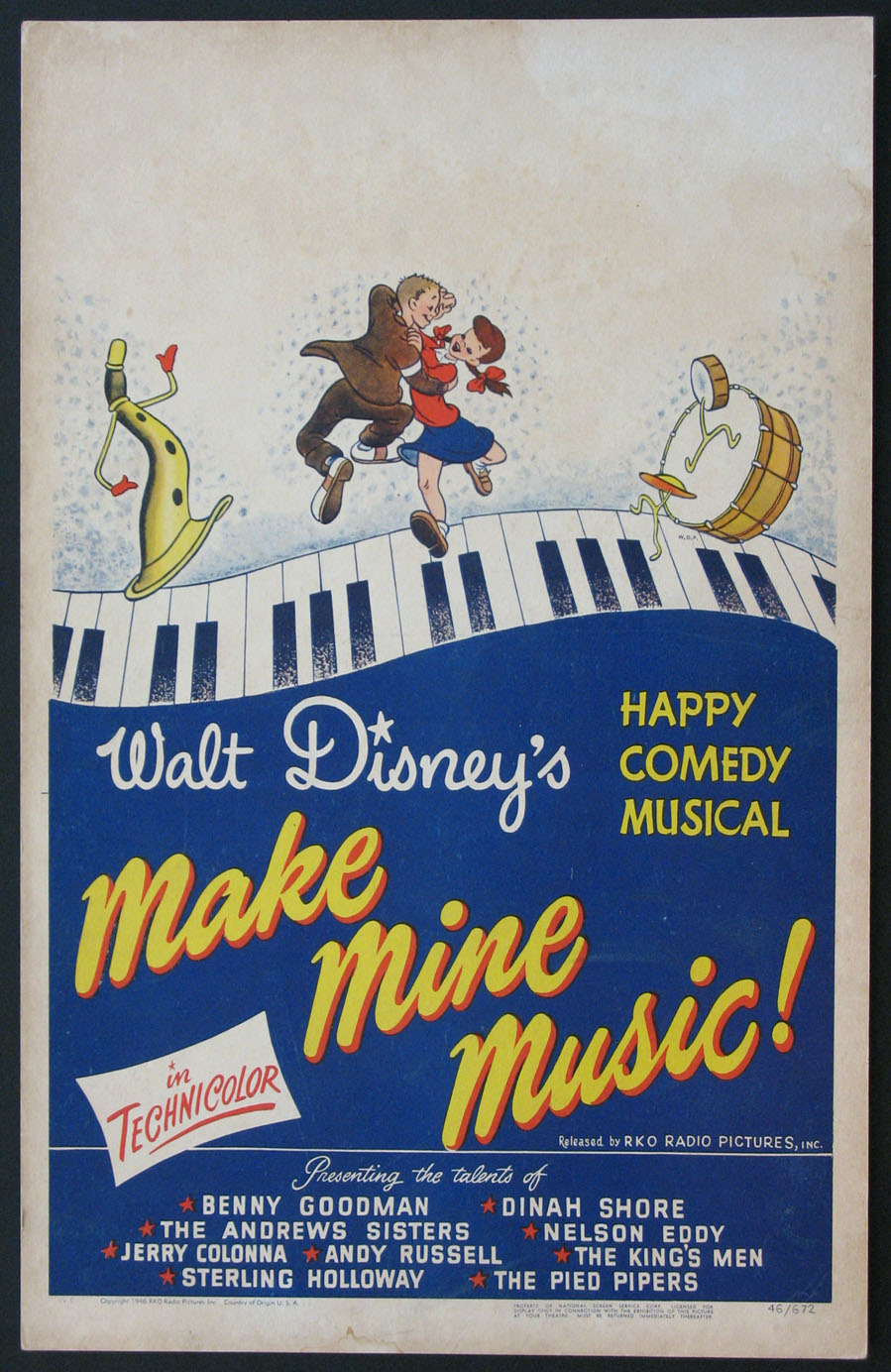 MAKE MINE MUSIC @ FilmPosters.com