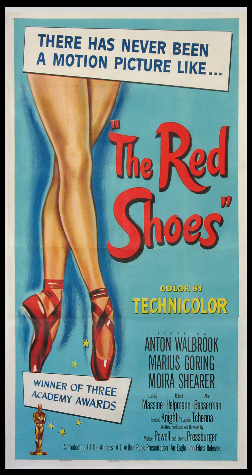 RED SHOES, THE (The Red Shoes) @ FilmPosters.com