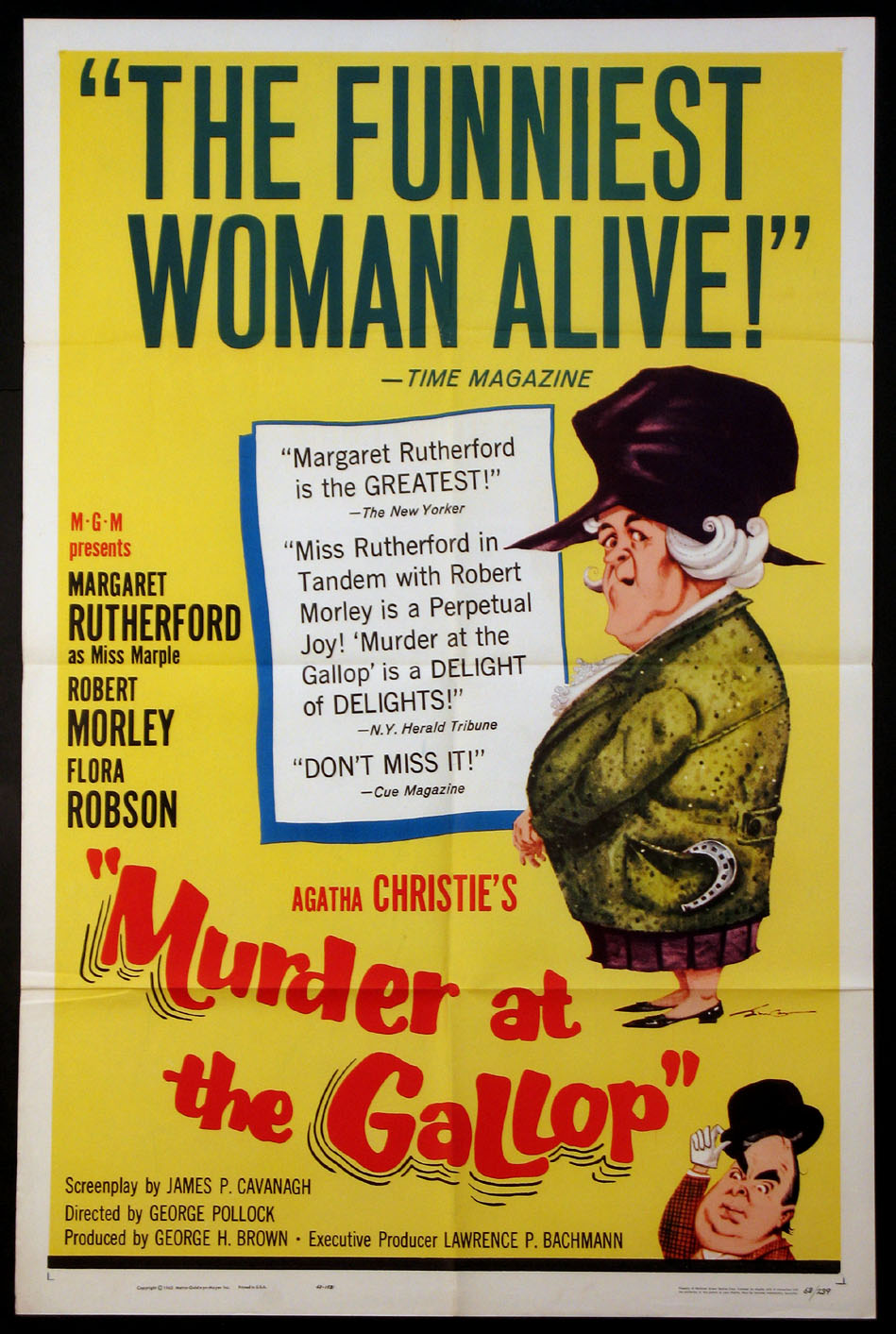 MURDER AT THE GALLOP @ FilmPosters.com