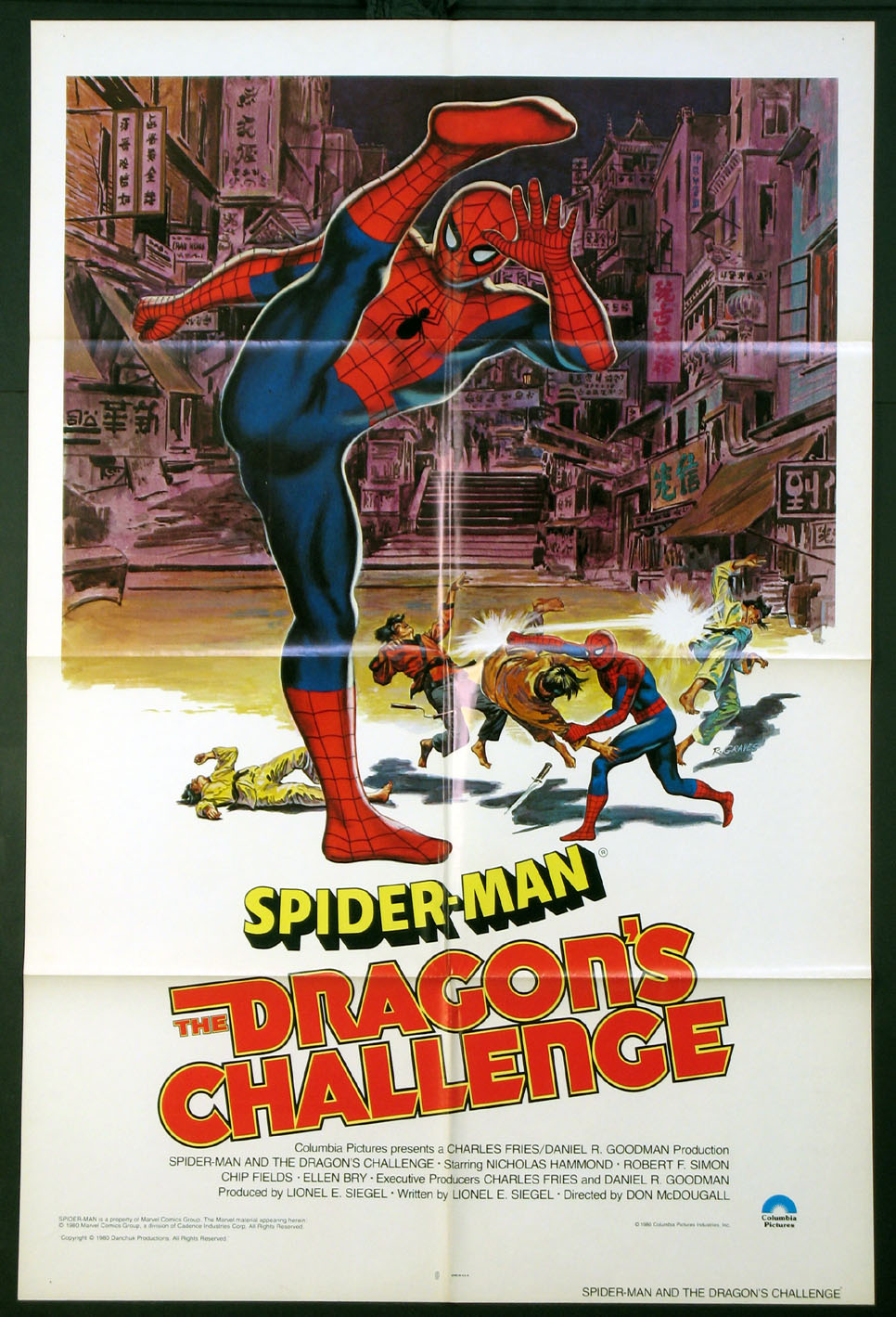 SPIDER-MAN: THE DRAGON'S CHALLENGE (Spiderman) @ FilmPosters.com