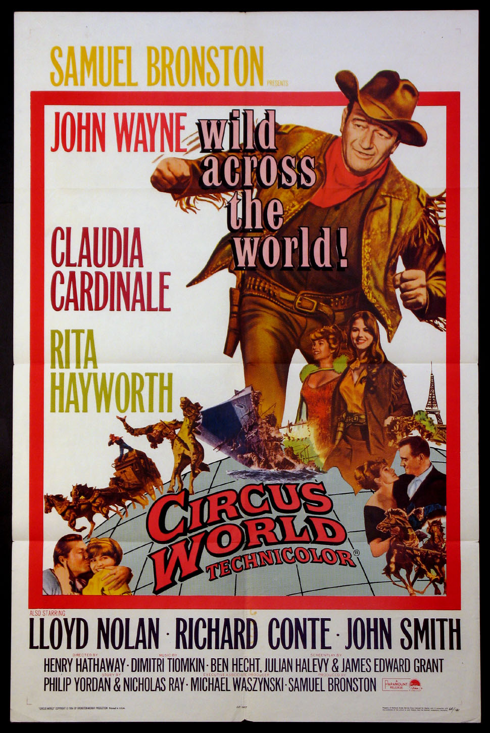 CIRCUS WORLD @ FilmPosters.com