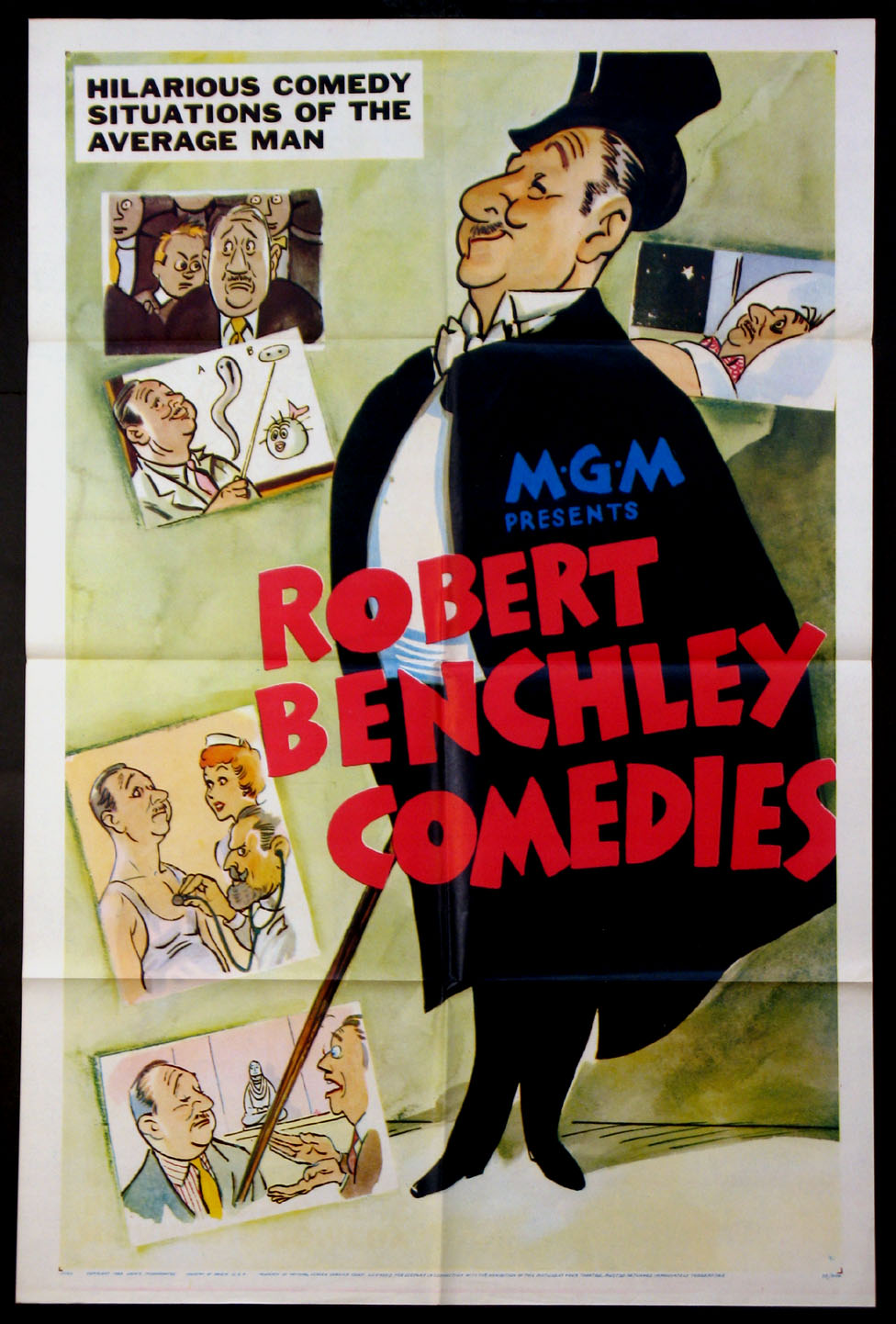 ROBERT BENCHLEY COMEDIES @ FilmPosters.com