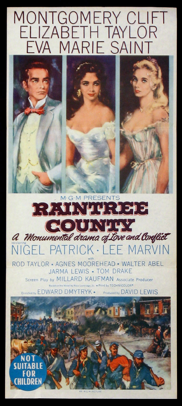 RAINTREE COUNTY @ FilmPosters.com