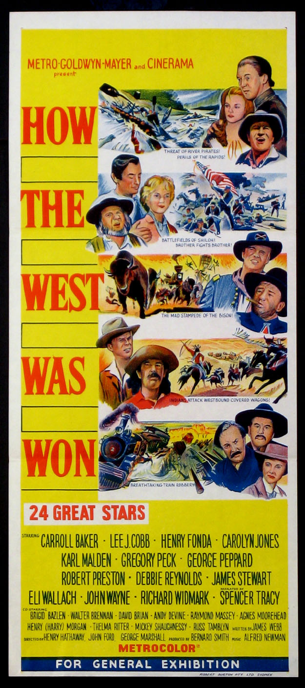 HOW THE WEST WAS WON @ FilmPosters.com