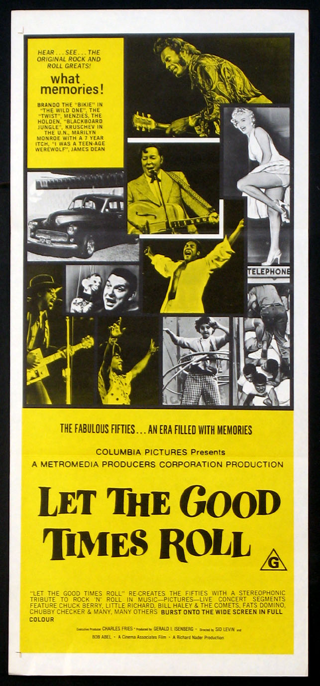 LET THE GOOD TIMES ROLL @ FilmPosters.com