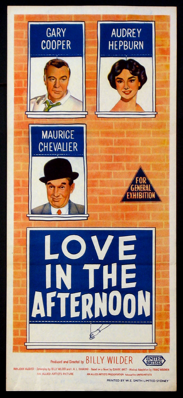LOVE IN THE AFTERNOON @ FilmPosters.com
