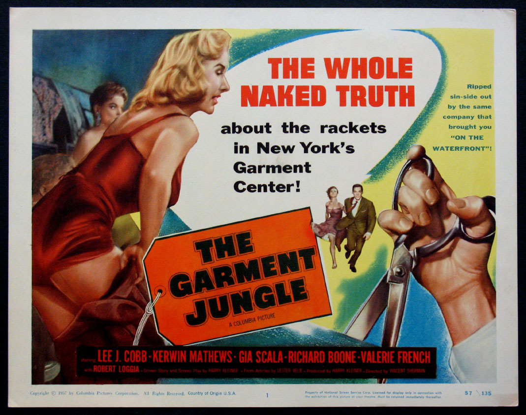 GARMENT JUNGLE, THE @ FilmPosters.com