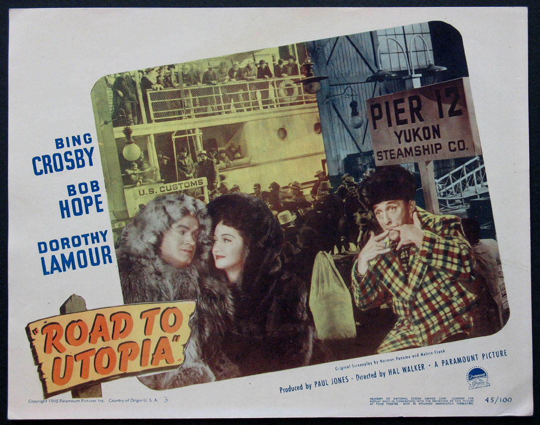 ROAD TO UTOPIA @ FilmPosters.com