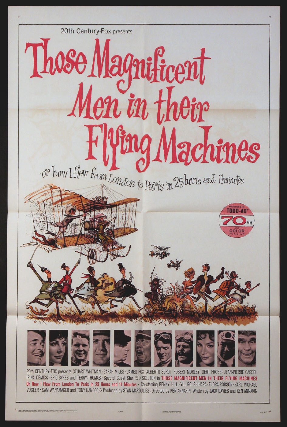THOSE MAGNIFICENT MEN IN THEIR FLYING MACHINES @ FilmPosters.com