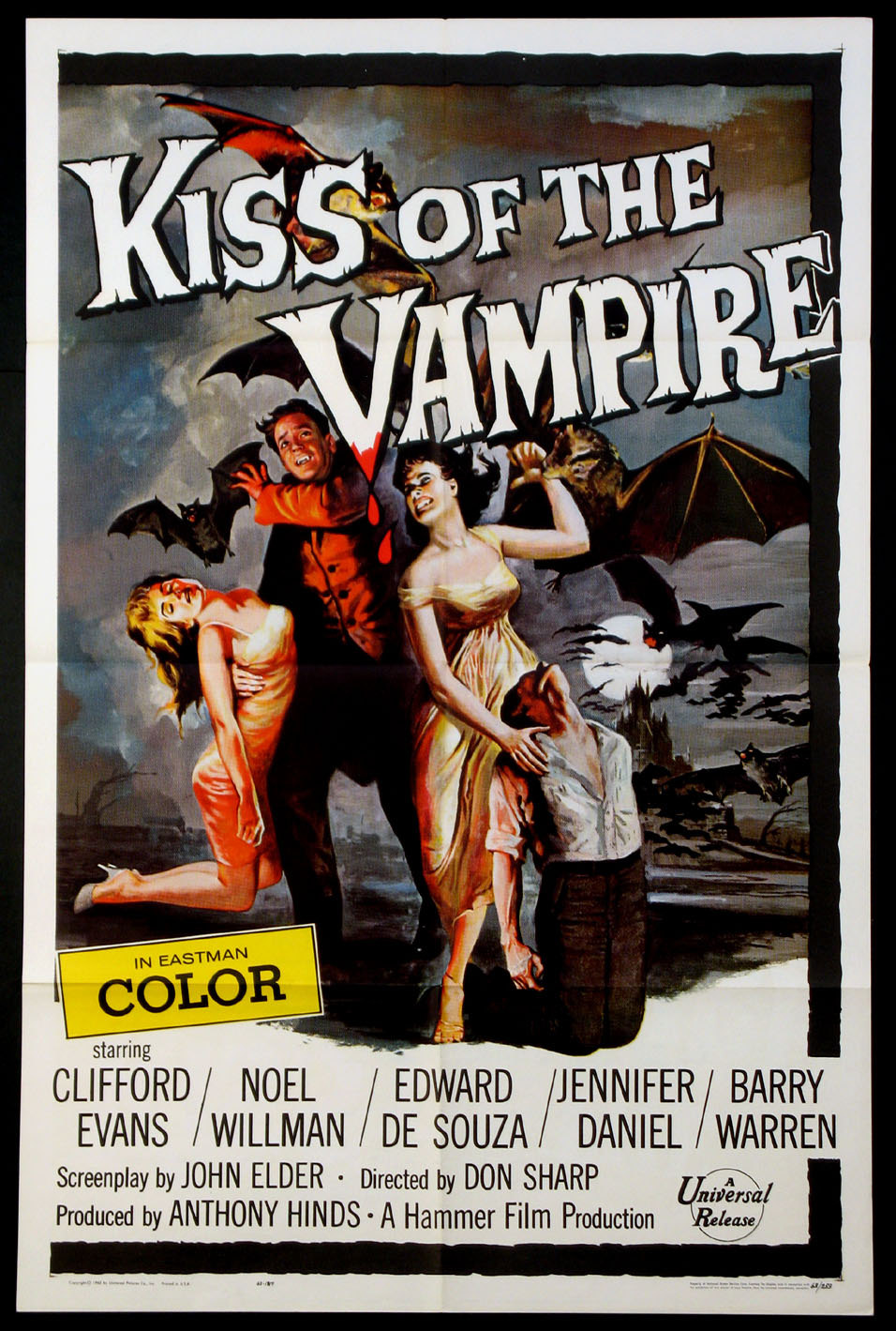 KISS OF THE VAMPIRE @ FilmPosters.com