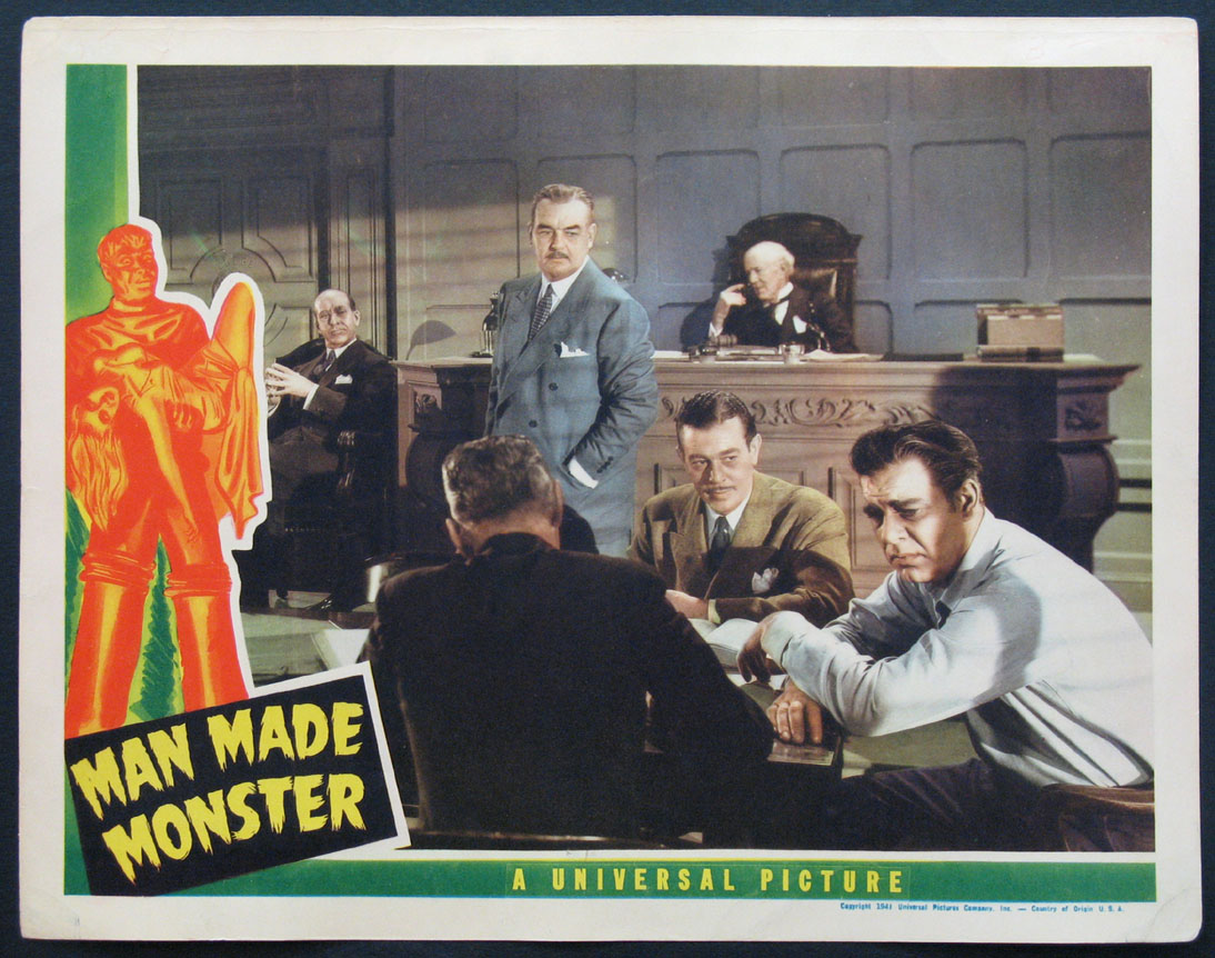 MAN MADE MONSTER (Man-Made Monster) @ FilmPosters.com