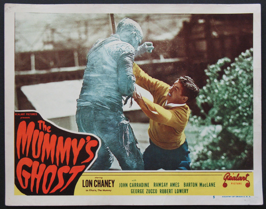 MUMMY'S GHOST @ FilmPosters.com