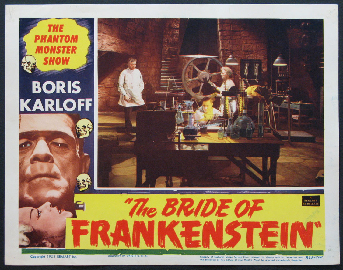 BRIDE OF FRANKENSTEIN, THE @ FilmPosters.com