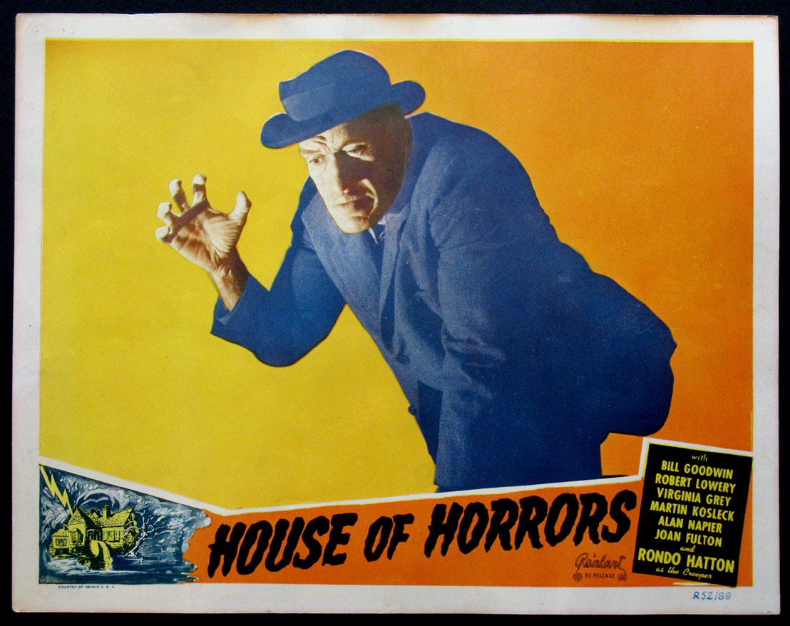HOUSE OF HORRORS @ FilmPosters.com