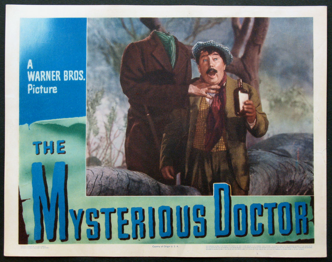 MYSTERIOUS DOCTOR, THE @ FilmPosters.com