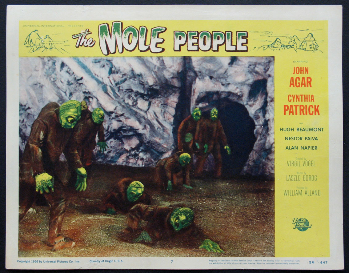 MOLE PEOPLE @ FilmPosters.com