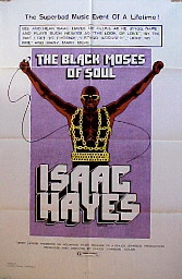 ISAAC HAYES: BLACK MOSES OF SOUL @ FilmPosters.com