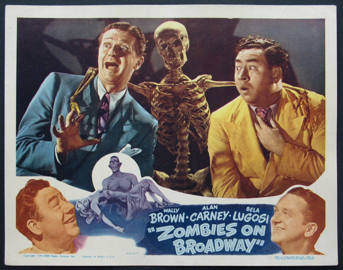 ZOMBIES ON BROADWAY @ FilmPosters.com